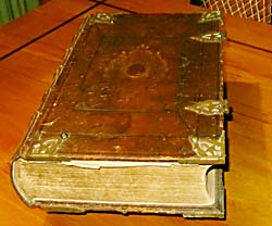 Enslin family bible