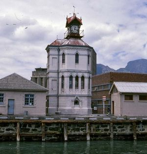 Fit78.9-2 Clock Tower, Cape Town Harbour. 1978