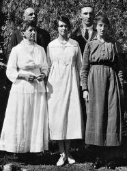 Millie on the right, about 1920